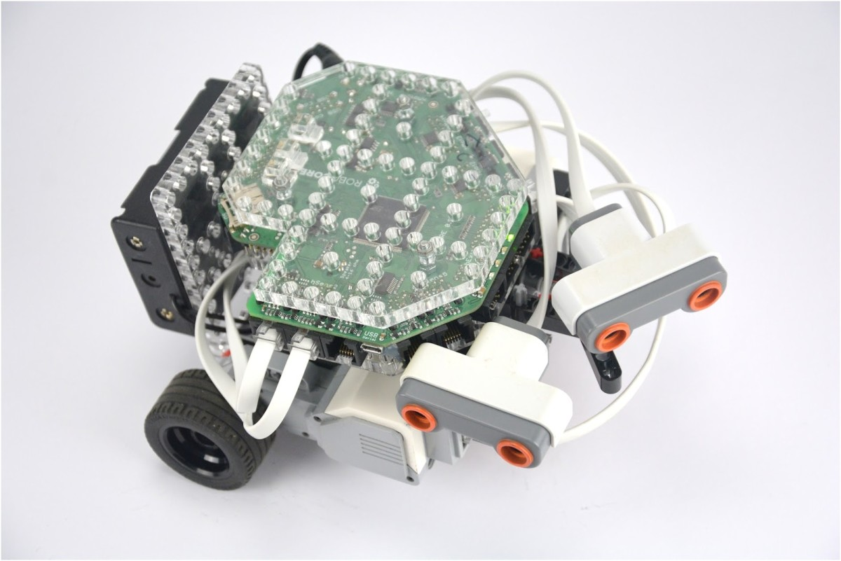 Getting started with Husarion + LEGO Mindstorms · Husarion Docs