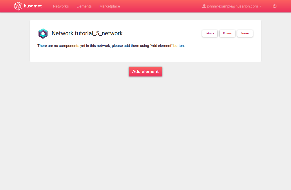 husarnet-empty-network